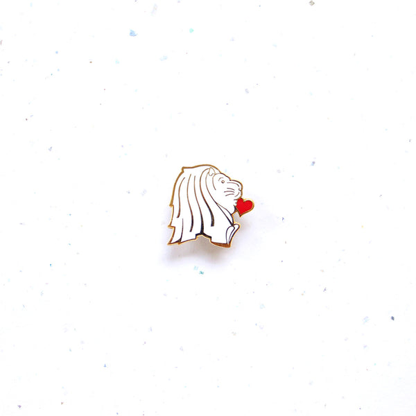 Everyday SG Pin – Merlion's Kiss