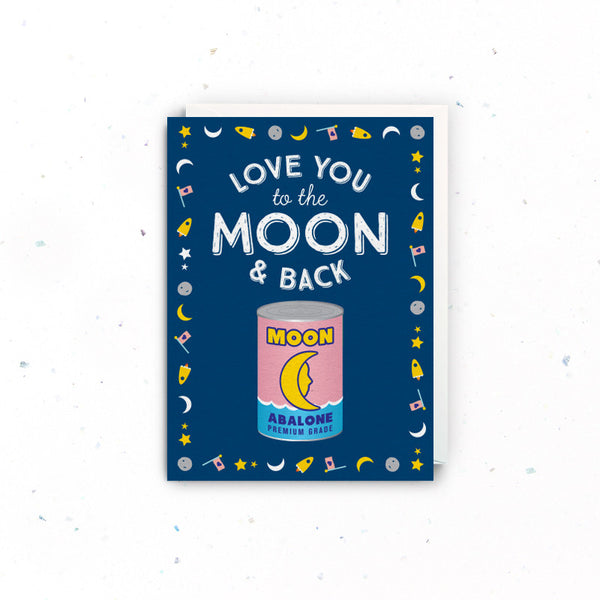 Singapore Greeting Cards – Anniversary or Love (Moon)