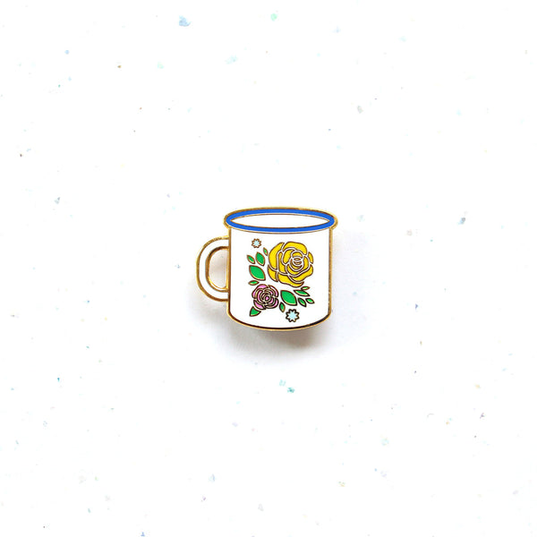 Everyday SG Pin – Peranakan Enamel Cup