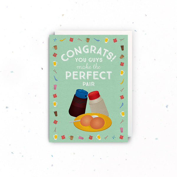 Congratulations (Wedding) – Perfect Pair