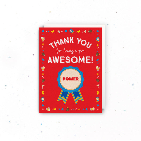 Thank you – Awesome
