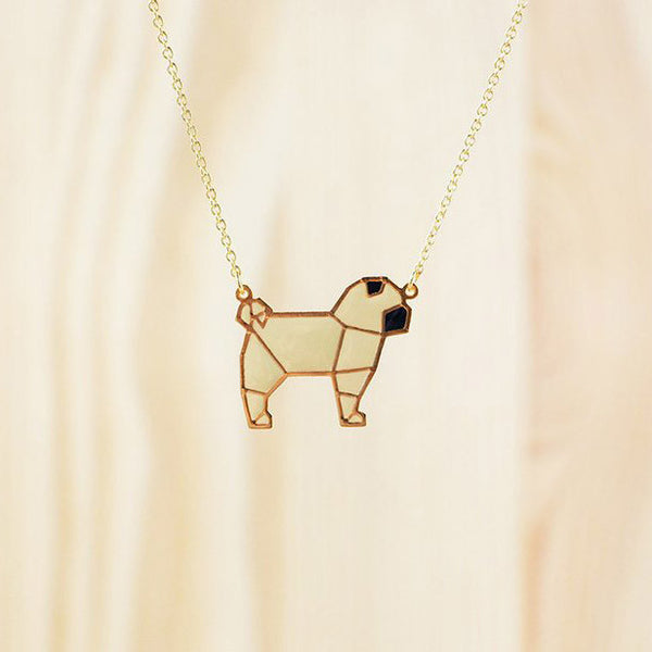 Hug A Porcupine Necklace – Pug