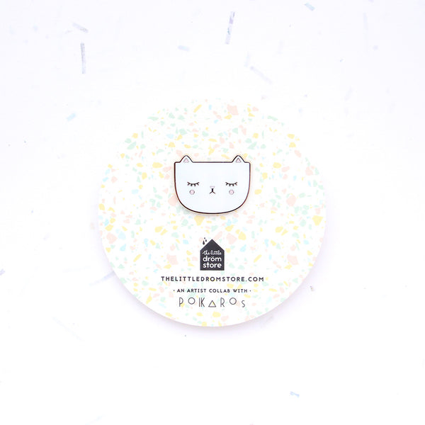 Polkaros Pin – Cat