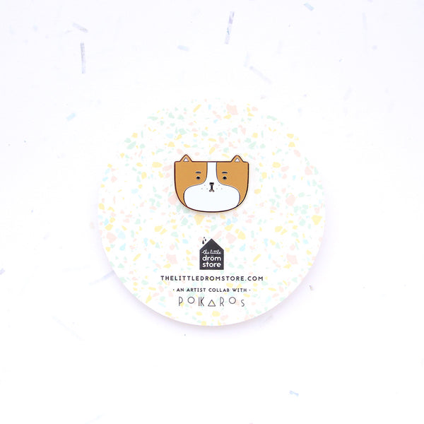 Polkaros Pin – Dog