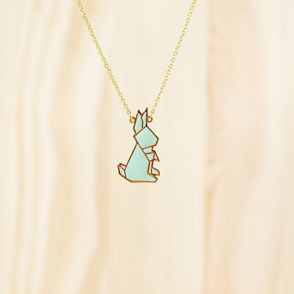 Hug A Porcupine Necklace – Rabbit