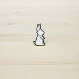 Hug A Porcupine Pin – Rabbit