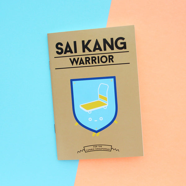 Strangely Singaporean Notebook – Sai Kang Warrior