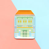 Shophouse Plate - Pink