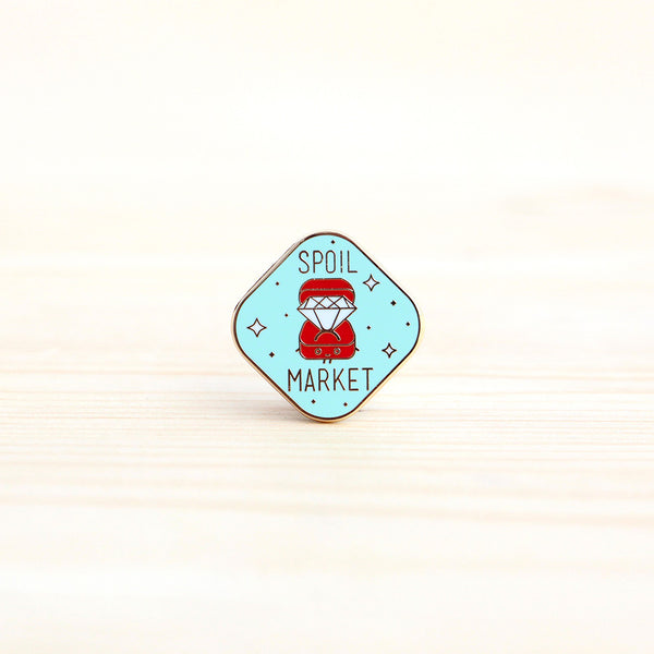 Strangely Singaporean Pin – Spoil Market