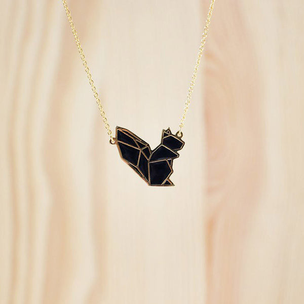 Hug A Porcupine Necklace – Squirrel