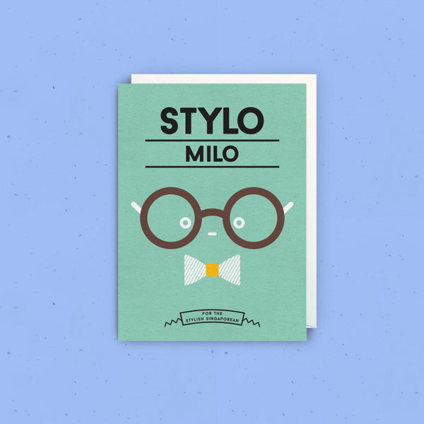 Strangely Singaporean Greeting Card  – Stylo Milo