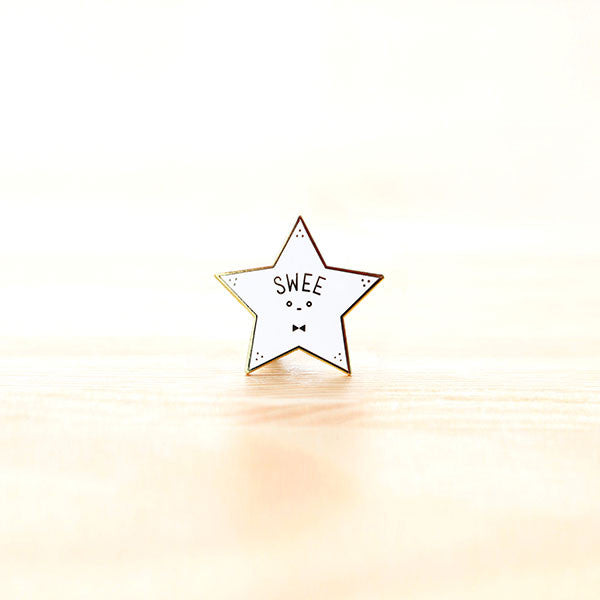 Strangely Singaporean Pin – Swee