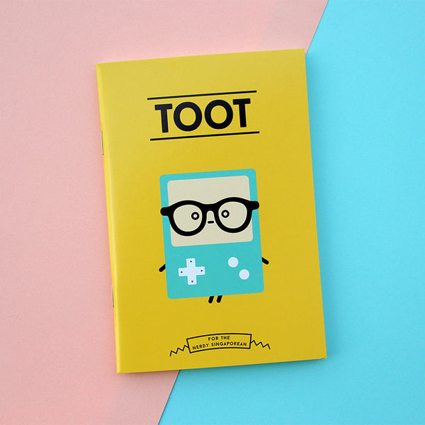 Strangely Singaporean Notebook – Toot