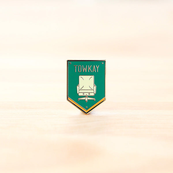 Strangely Singaporean Pin – Towkay