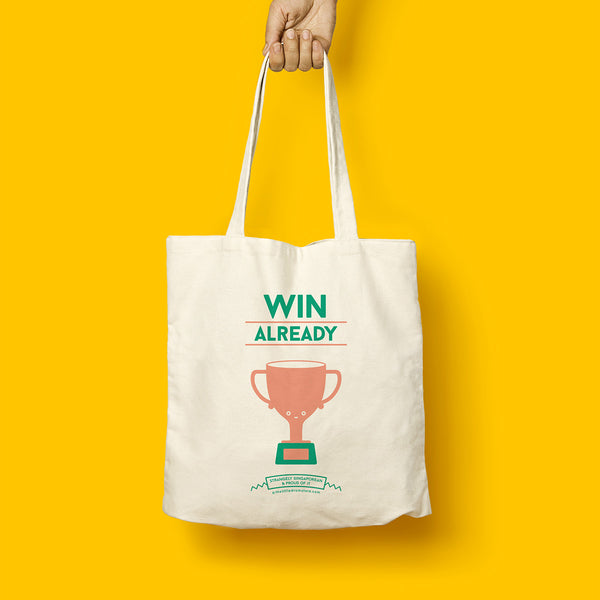 Strangely Singaporean Tote – Win Already