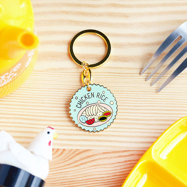 Kopitiam Keychain – Chicken Rice