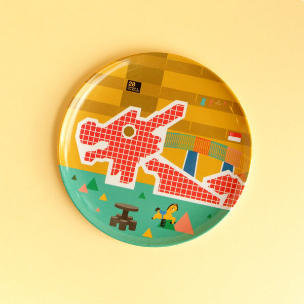 Playground Plate – Dragon