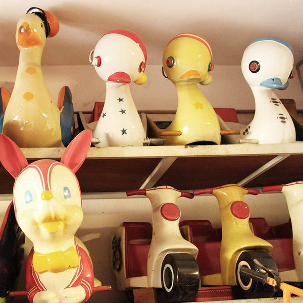 Kiddy Ride Pin - Duck