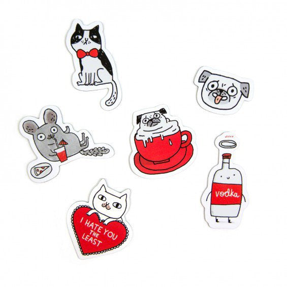 Gemma Correll – Fridge Magnets