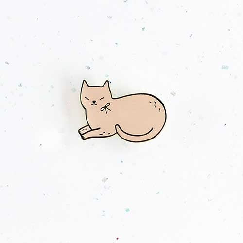 Audrey Jeanne Pin – Pink Cat