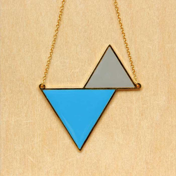 Hug A Porcupine Necklace – Twin Triangle