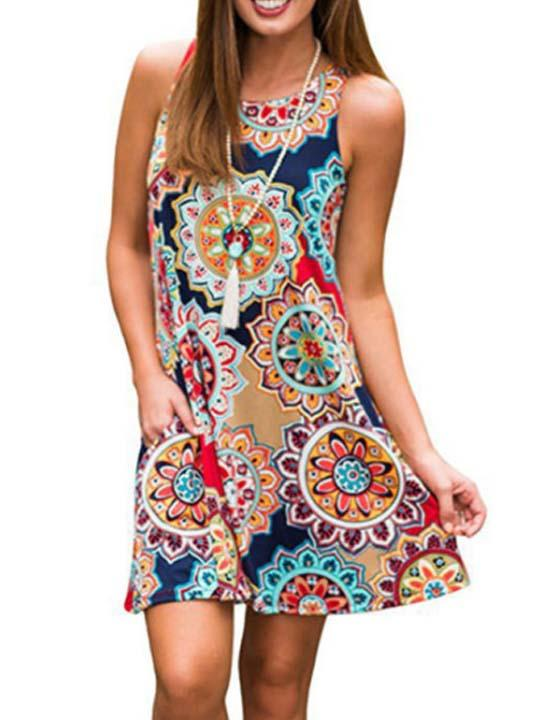 Sleeveless Summer Sundress