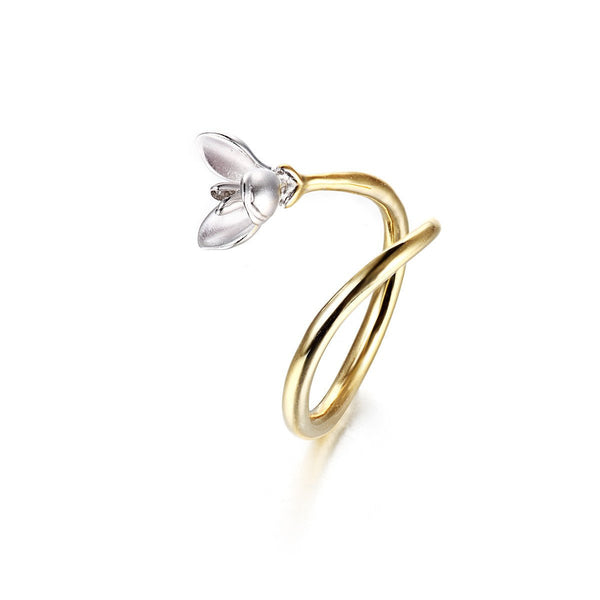 Alice Orchid Ring