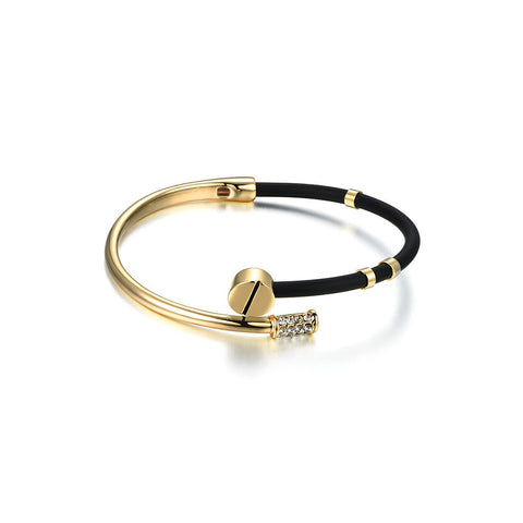 Black and Golden Bracelet