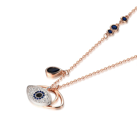 Flash Sale-Blue Eye of God Necklace
