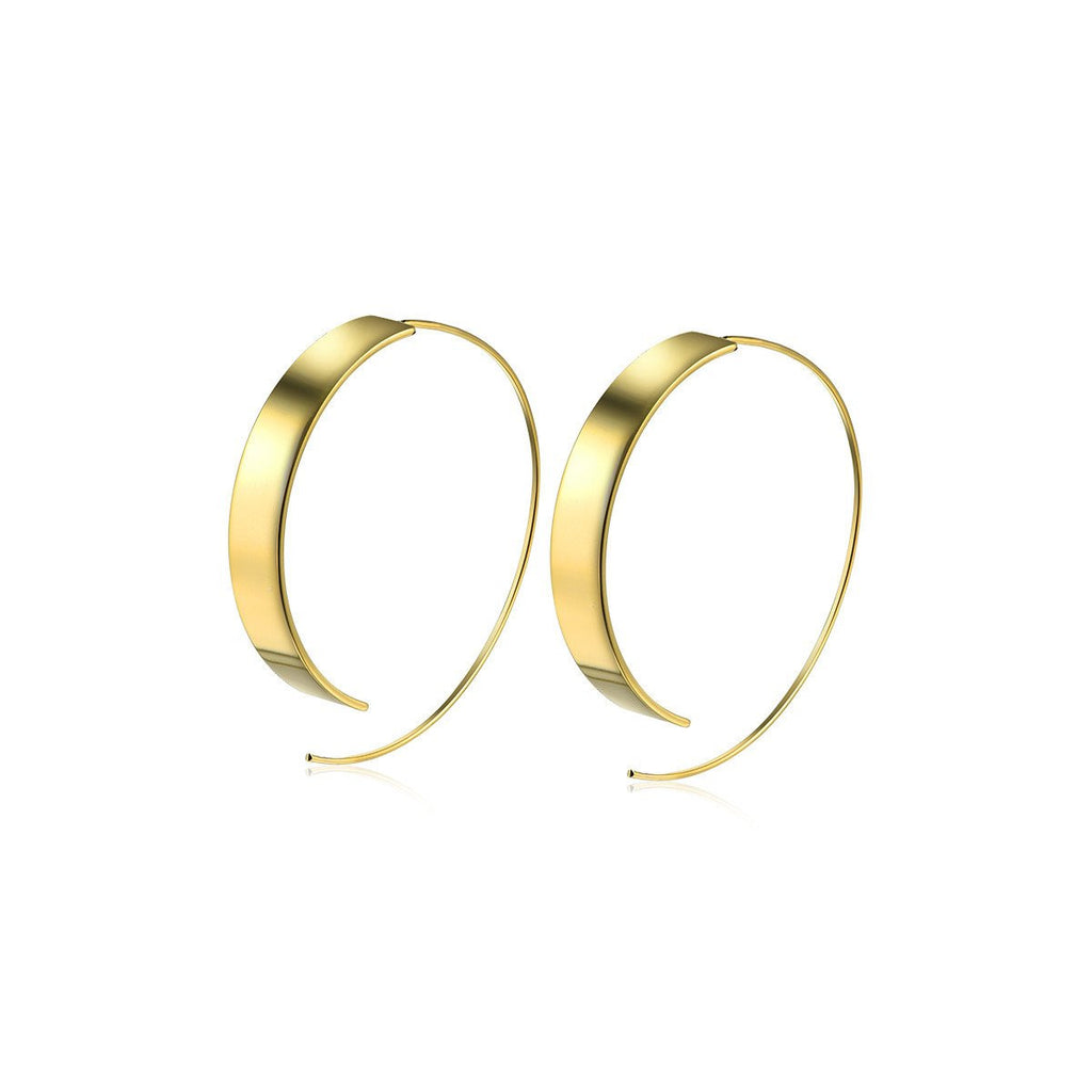 Flash Sale-Chasing Bullets Hoop Earrings