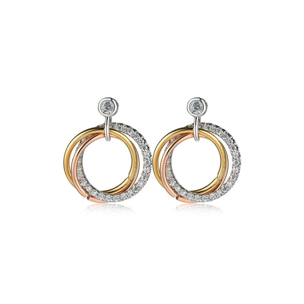 Earrings-Circle and Circle Earrings