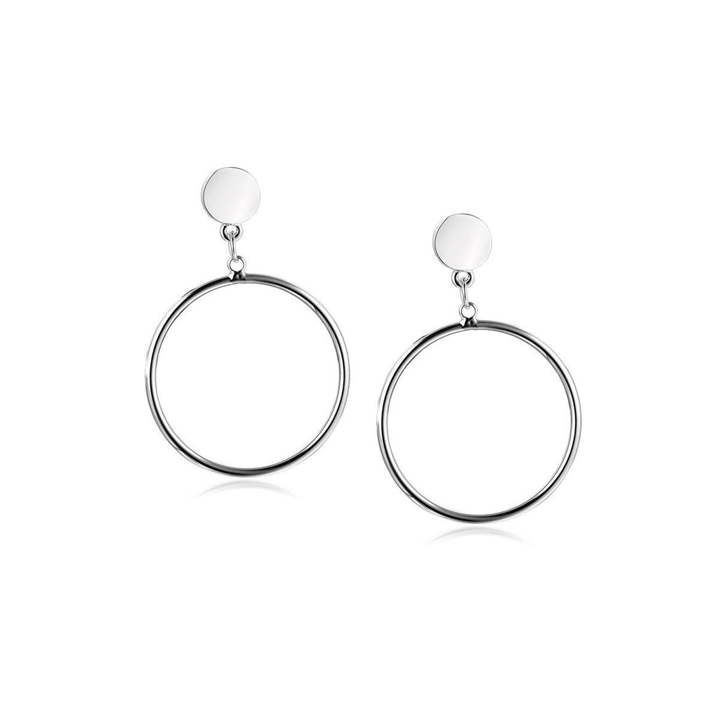 Earrings-Circle of Mania Earrings