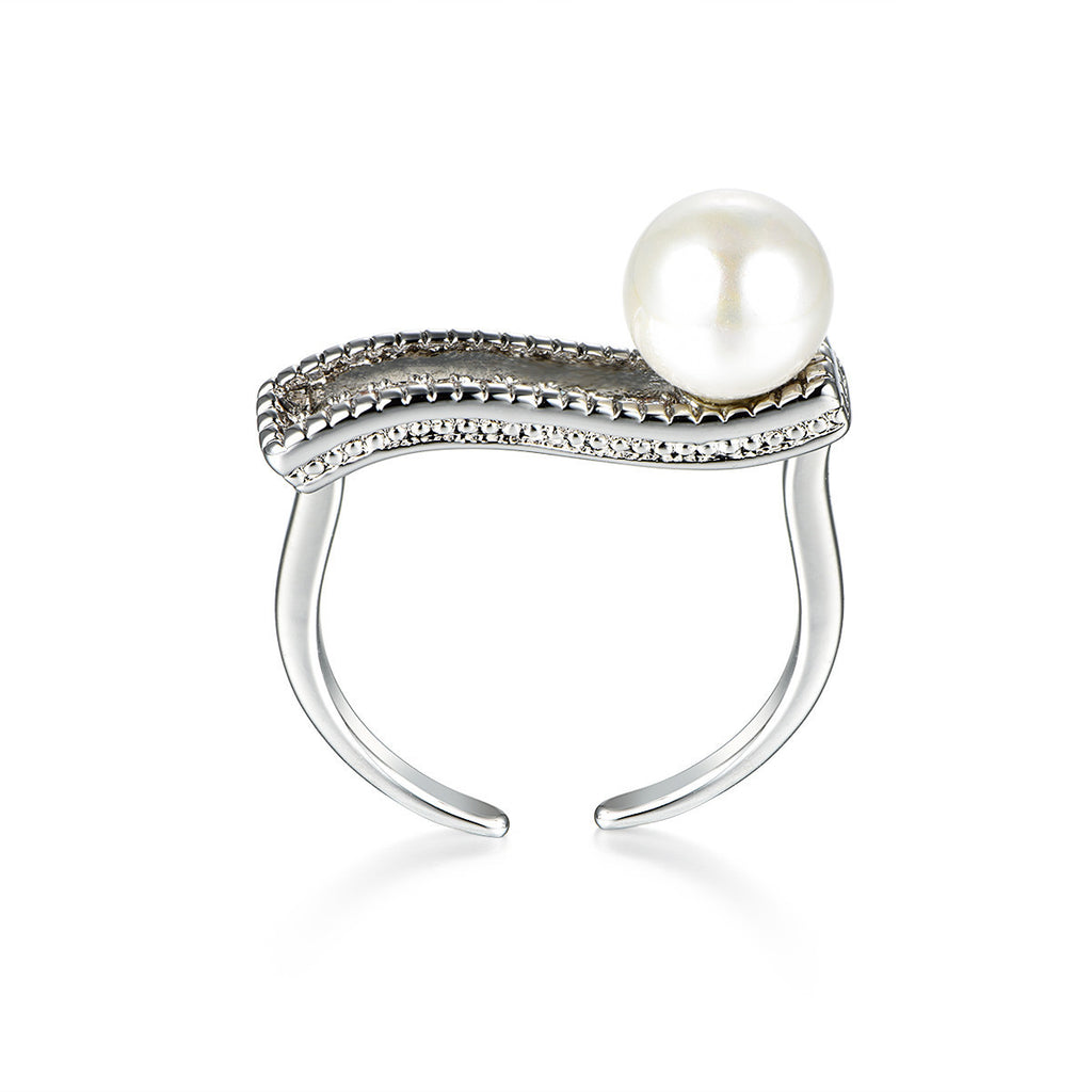 Flash Sale-Pearl Girl Ring