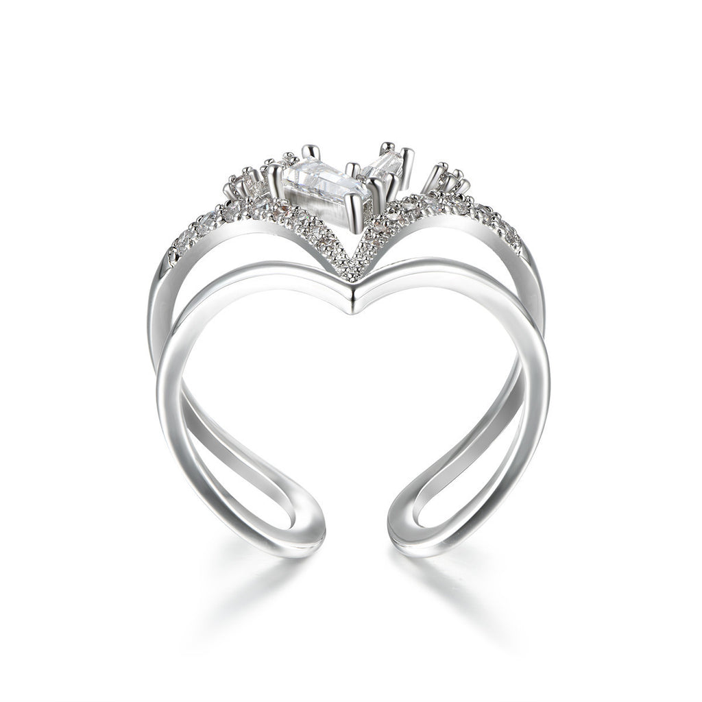 Flash Sale-Princess Heart Ring