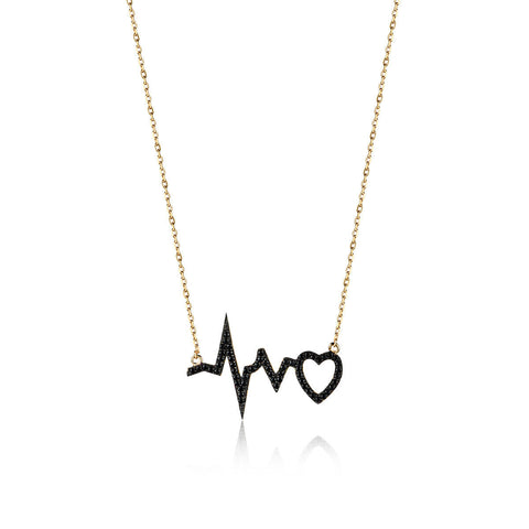 Shoot at Heart Necklace