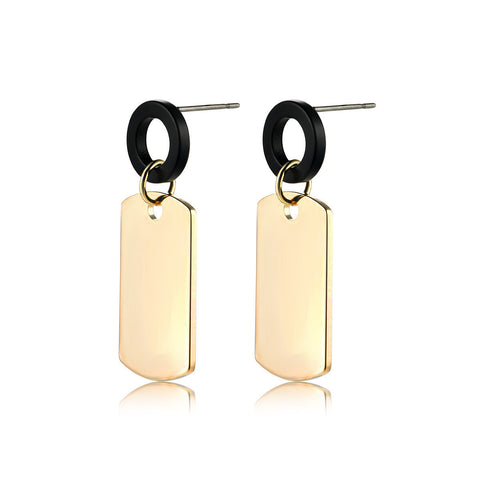 Square Leaves Earrings