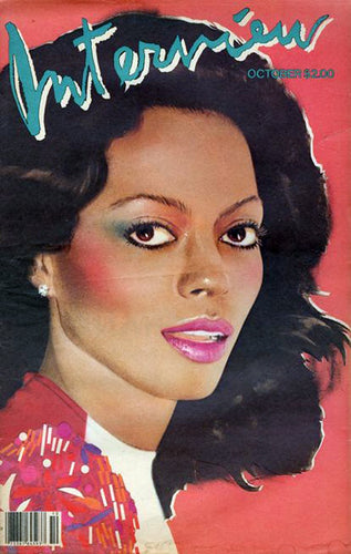 Vintage Interview Magazine - Diana Ross (Oct 1981)