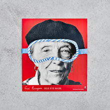 Silk Portrait Eye Mask x Louise Bourgeois