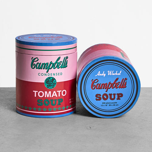 Warhol Soup Can Puzzle