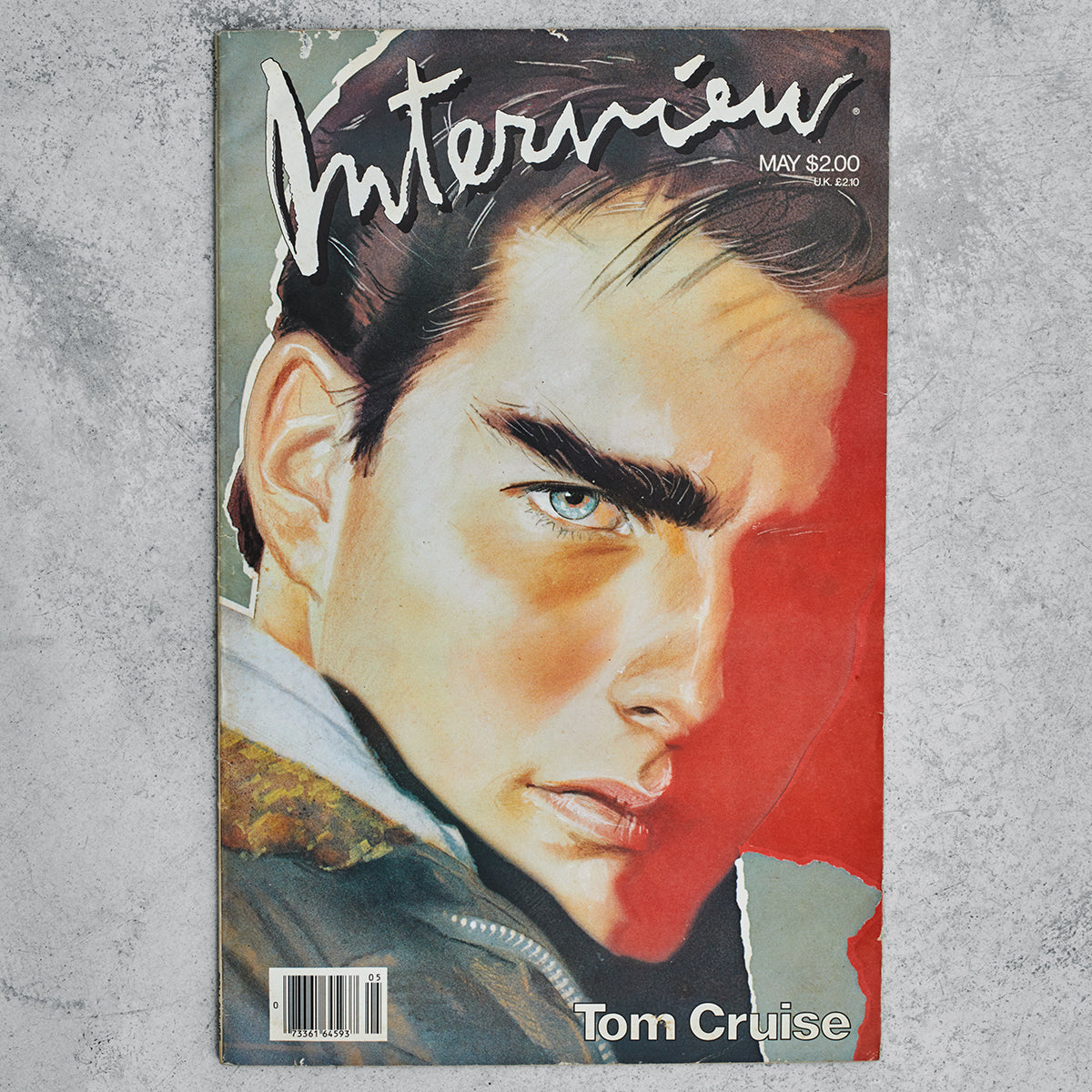 Vintage Interview Magazine - Tom Cruise (May, 1986)