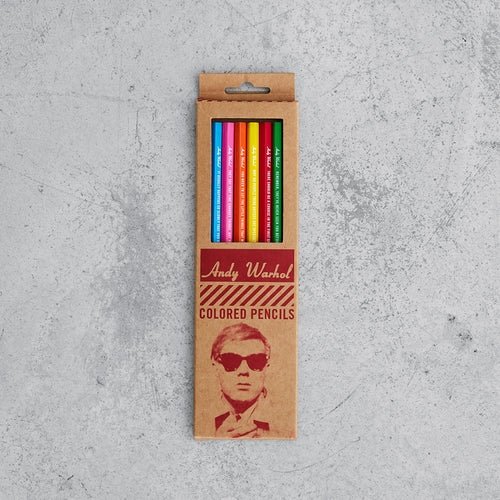 Andy Warhol Colored Pencil Set