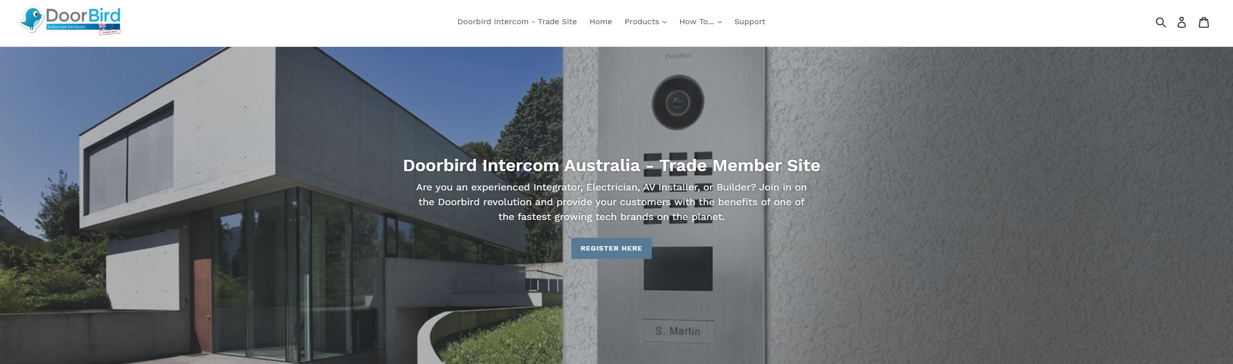 Doorbird Intercom Trade Site