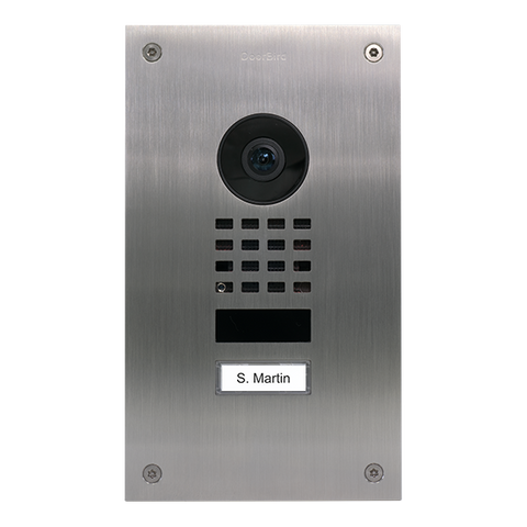 DoorBird IP Intercom Video Door Station D1101UV, Upgrade for Doorbird D201/D202 to D11x Technology