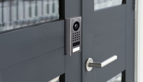 DoorBird IP Intercom Video Door Station D1101V, Surface Mount Stainless Steel Metallic Finish