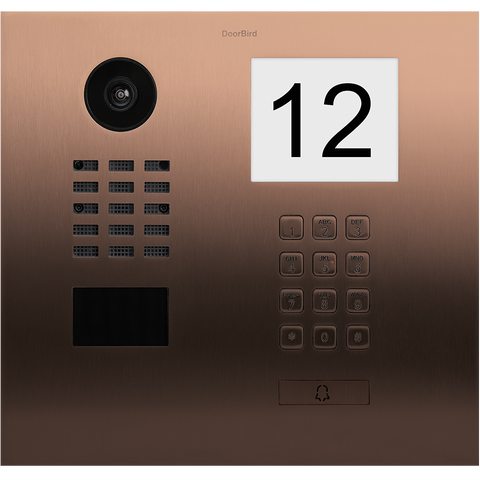 DoorBird IP Intercom Video Door Station D2101IKH Flush Mounted with Keypad
