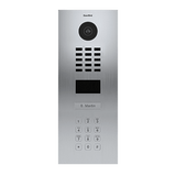 DoorBird IP Intercom Video Door Station D2101KV Flush Mounted with Keypad - Refurbished
