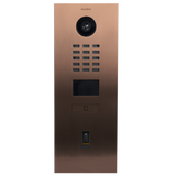 DoorBird IP Intercom Video Door Station D2101FV EKEY Flush Mounted - Metallic Finish