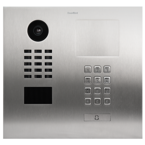 DoorBird IP Intercom Video Door Station D2101KH Flush Mounted with Keypad