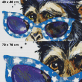 Cheeky Monkey Full Coverage 5D Diamond Painting Kit