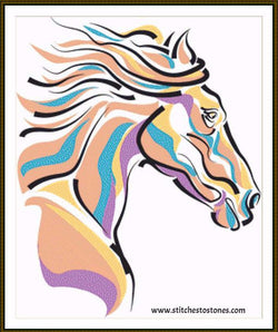 Horse Head Diamond Painting